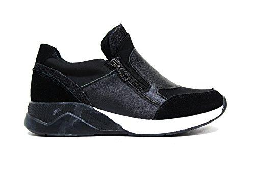 Lee Roy sneakers in pelle donna colore nero L382 BLACK nuova collezione autunno inverno 2016 2017