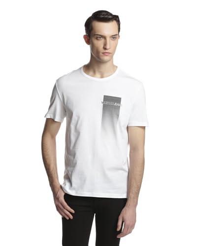 Versace Jeans Men's Ombre Effect Crew Neck Tee Shirt