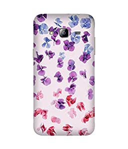 Flower Spread Out Samsung Galaxy J3 Case