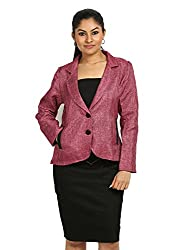 Fbbic Women's Jacket (16142_Small_Pink)