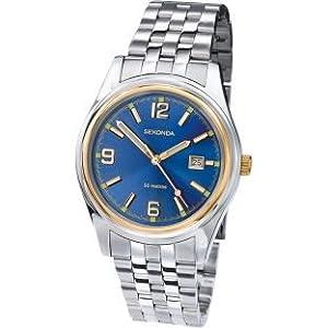 Indumentaria Sekonda Men's Two-Tone Quartz Watch.