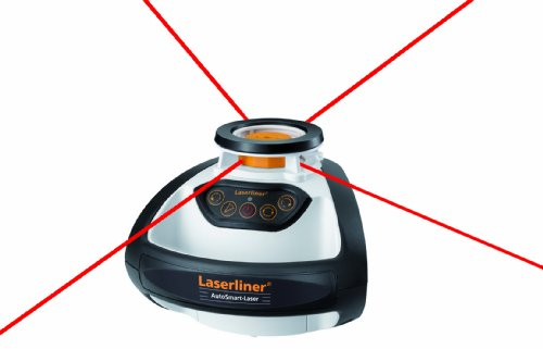 Laserliner UK: AutoSmart Laser 100 Set - Self-levelling Rotary Laser Set with Receiver and Crank Tripod