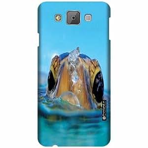 Printland Designer Back Cover for Samsung Galaxy E7 - Water Case Cover