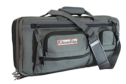 The Ultimate Edge 2001-EDGT Deluxe Chef Knife Case, Graphite