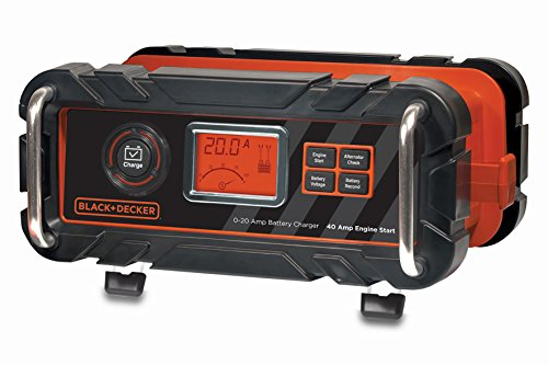 Black and Decker BC20BD Caricabatterie 20 Amp Per Motore 40 Amp