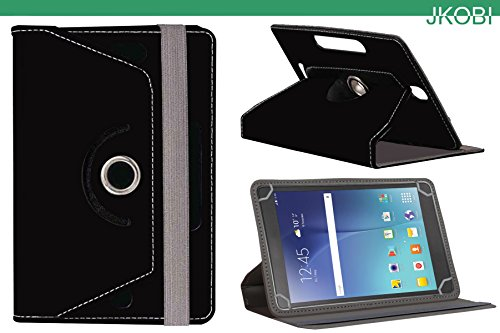 Jkobi 360* Rotating Front Back Tablet Book Flip Flap Case Cover Compatible For Samsung Galaxy Tab 3 Lite 7. 0 -Black  available at amazon for Rs.210