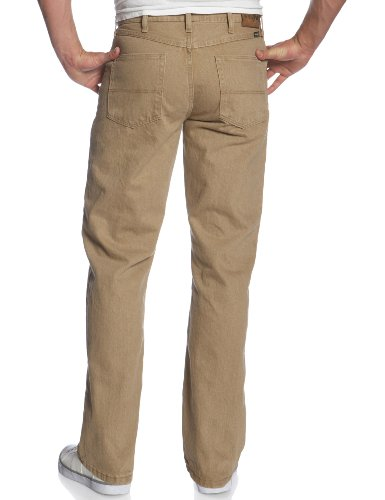 083625298571 - Genuine Wrangler Men's Regular Fit Jean,British Khaki,32x30 carousel main 1