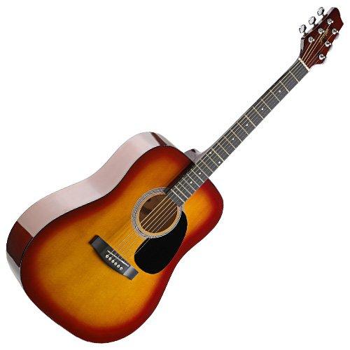 stagg-sw201cs-dreadnought-acoustic-guitar-cherryburst
