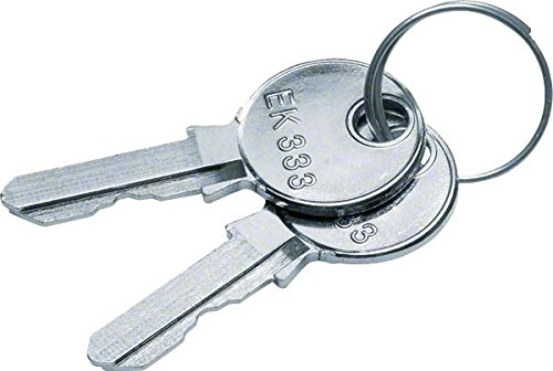 Hager Ersatzschlüssel univers. FZ539 für FZ531+FZ533 Schlüssel für Schranksysteme 3250612765393