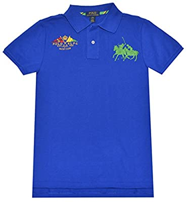 Polo Ralph Lauren Boys Custom Fit Dual Match Polo Shirt