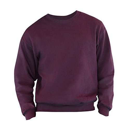 fruit-of-the-loom-belcoror-garn-pullover-2xl-burgunder-xxlburgunder