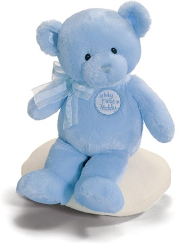 Gund Baby My First Teddy Bear Blue 11 Inch