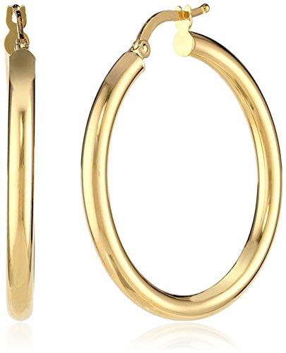 7mm x 25mm 10k Yellow Gold Medium Solid Treble Clef Pendant Charm