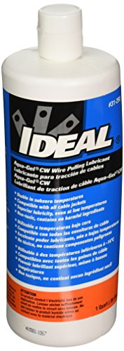 Ideal 31-298 Aqua-Gel Cold Weather Wire Pulling Lubricant, 1 quart Container (Wire Pulling Gel compare prices)