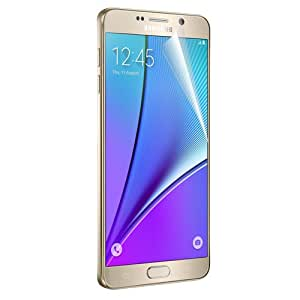 RND Screen Protectors for Samsung Galaxy Note 5 Two Anti Glare Matte Finish and Two Crystal Clear Gloss Finish with lint cleaning cloths