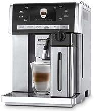 DeLonghi One Touch ESAM 6900 LatteCrema Kaffee-Vollautomat PrimaDonna (15 bar, Trinkschokoladenfunktion, Farbdisplay, Milchbehälter) silber/Edelstahl