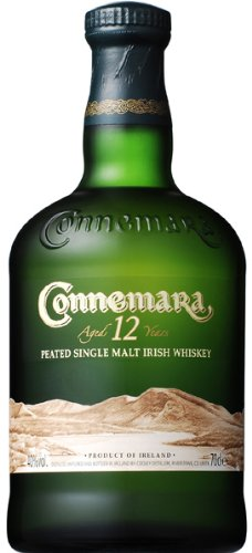 CONNEMARA 12 Year Old Peated Single Malt Irish Whiskey 70cl Bottle