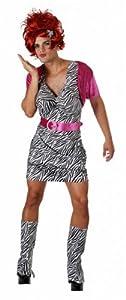 MENS 70s 80s Hooker Pimp Tart Moll Fancy Dress Costume L XL XXL