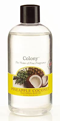 Wax Lyrical Homescents Reed Diffuser Refill Pineapple Coconut by Wax Lyrical