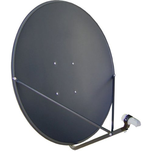 "Fantastic Deal! GEOSATpro 36""/90cm FTA Satellite Dish and .5dB NR SL1PLL Single Standard LNBF"
