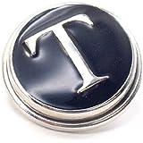 "Time4-Charms Chunks Chunk Buchstabe "" T "" Buchstaben für Armband Kette Druckknopf Click Button"