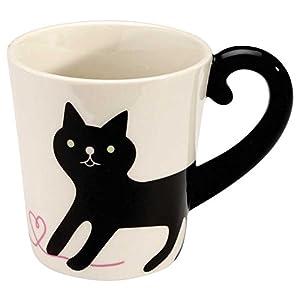 """CONCOMBRE"" Animal Tail Mug (Black Cat)"