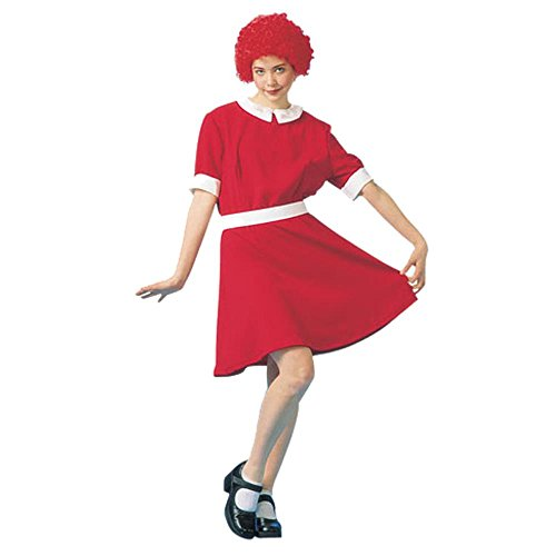 Adult Deluxe Orphan Annie Costume (Size:Small 5-7)