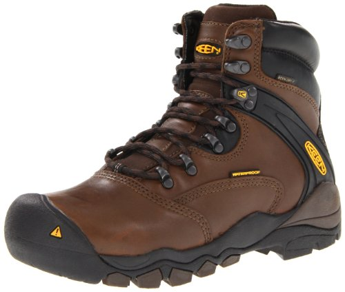 KEEN Utility Men's Louisville 6-Inch Soft Toe Work Boot,Slate Black,10 EE US