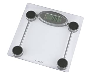 Hanson HX5000 Glass Electronic Bathroom Scale