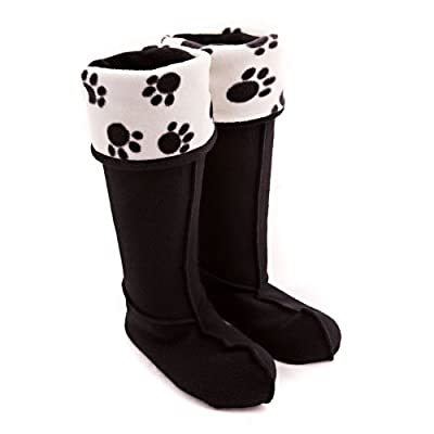 Paw Print Welly Warmers