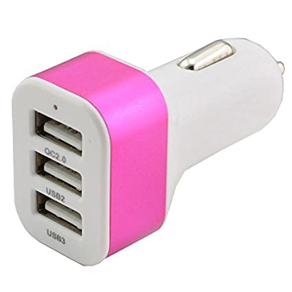 Futaba-4.1A-Triple-USB-Car-Charger