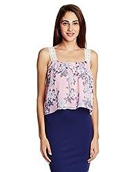 Anaphora Women's Body Blouse Shirt (56170_Multi_Small)
