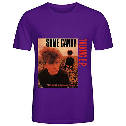 Jesus Some Candy Talking Ep Soul Album Cover Men Crew Neck Customized T Shirts Purple (Uga Twin Quilt compare prices)