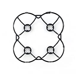 NUOLUX Propeller Blades Protection Guard Cover for Cheerson CX-10 RC Quadcopter (Black)