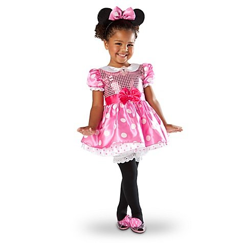 Disney Store Minnie Mouse Costume Dress - Pink