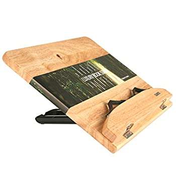 CAMINO LUXURY BOOK STAND 320 100% Purely Natural Wood | Eco friendly | Automatic Angle Adjustment in 12 steps book stand | holder | reading desk