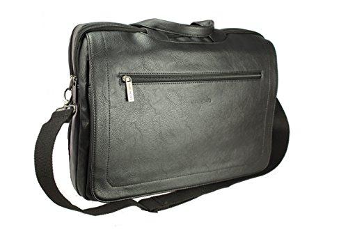 Marc Picard, borsa portadocumenti da uomo business, borsa da laptop (nero)