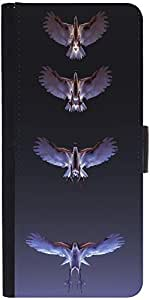 Snoogg Eagles Designer Protective Phone Flip Case Cover For Htc Desire 820G Plus