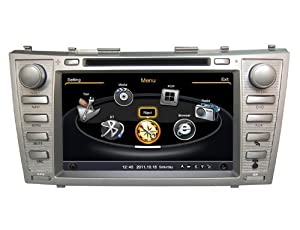 susay tm for toyota camry 2008 2009 2010 2011 8 0 inch car dvd player with gps. Black Bedroom Furniture Sets. Home Design Ideas