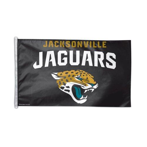 NFL Jacksonville Jaguars Flag, 3 x 5-Feet