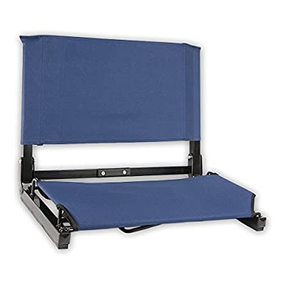 "The Deluxe Stadium Chair - The Bleacher Seat with Bungee Cord Comfort is now 3"" wider than the original!"