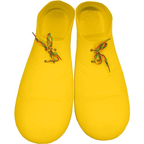 Jumbo Yellow Clown Shoes