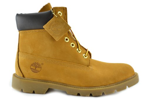 Timberland Men's 6-Inch Basic Waterproof Boots Wheat 18094 (8 D(M) US) (Timberland 6 D M compare prices)