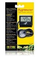 Exo Terra Digital Hygrometer with Probe, habitat, kit, rainforest, vivarium, exo, terra, humidity
