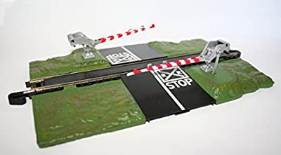 Bachmann Trains Snap - Fit E - Z Track Crossing Gate - HO Scale