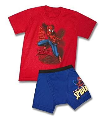 Fruit of the Loom Little Boys' Spiderman Underoos Prints, Multi, 7-8