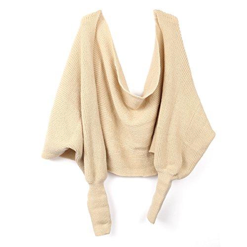 leorx-donne-sciarpa-scialle-mantella-con-maniche-lavorata-a-maglia-beige