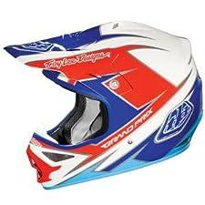 Troy Lee Designs Air Stinger Helmet - 2012 - Medium/White/Blue