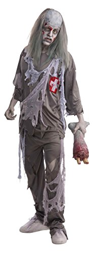 Bristol Novelty Grey Zombie Doctor Adult Costumes - Men's - One Size