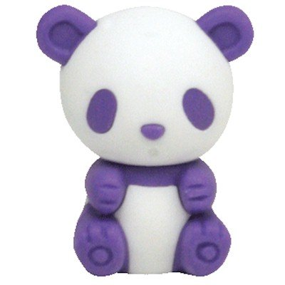 Ty Beanie Eraserz - Bamboo the Panda - 1